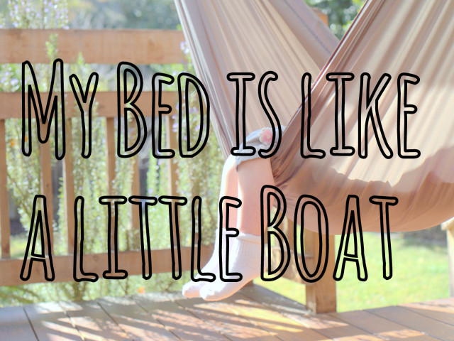 Our Little Poet: My Bed is Like a Little Boat