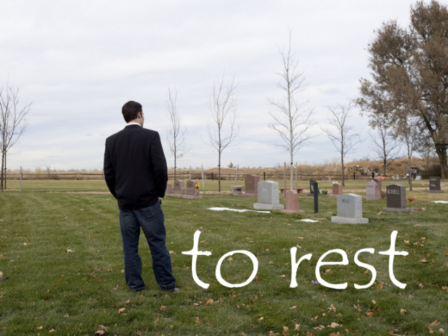 to rest