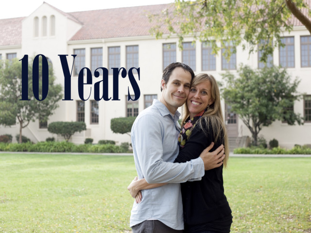 Celebrating a Decade of Marriage