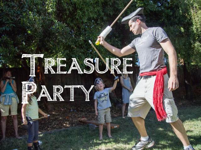 {Pirate} Gold Treasure Party